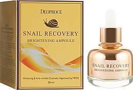 Parfums et Produits cosmétiques Ampoule à l'extrait de concombre pour visage - Deoproce Snail Recovery Brightening Ampoule