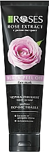 Parfums et Produits cosmétiques Masque noir peel-off au charbon actif pour visage - Nature of Agiva Roses Black Peel Off Face Mask