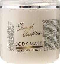 Parfums et Produits cosmétiques Masque à l'argile blanche et huile de vanille pour visage et corps - Sezmar Collection Professional Body Mask Sweet Vanilla