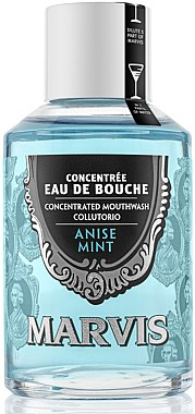 Bain de bouche concentré à l'anis et à la menthe - Marvis Concentrate Anise Mint Mouthwash