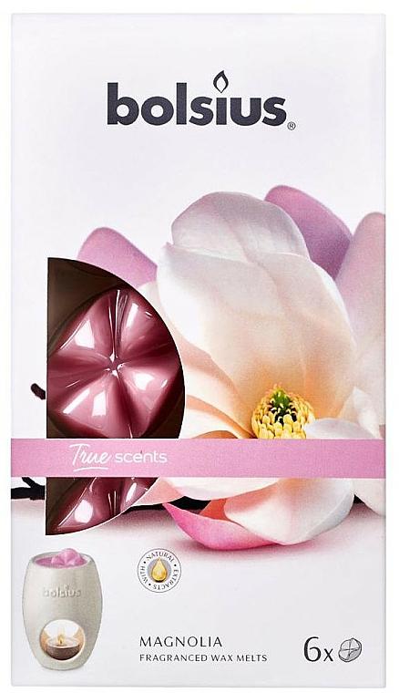 Fondants de cire parfumée, Magnolia - Bolsius True Scents Magnolia