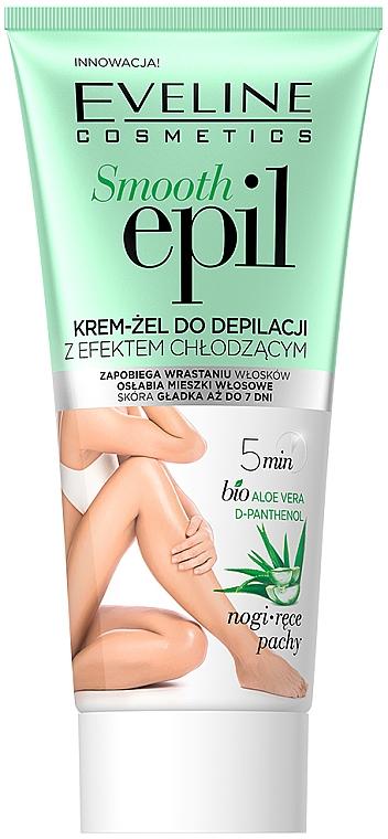 Gel dépilatoir à l'acide hyaluronique, effet rafraîchissant - Eveline Cosmetics Smooth Epil