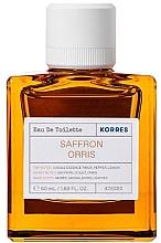 Parfums et Produits cosmétiques Korres Saffron Orris - Eau de Toilette
