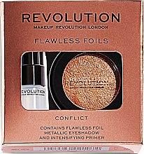 Parfums et Produits cosmétiques Set (fard à paupières/2g + base de fard à paupières /2ml) - Makeup Revolution Flawless Foils