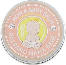 Parfums et Produits cosmétiques Baume au beurre de karité et calendula - Roofa Calendula & Panthenol Mom & Baby Shea Butter & Calendula Balm