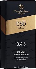 Parfums et Produits cosmétiques Sérum croissance des cils No. 3.4.6 - Divination Simone De Luxe DSD Eyelash Wonder Serum
