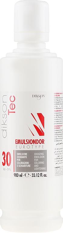 Crème oxydante 9% - Dikson Tec Emulsiondor Eurotype 30 Volumi