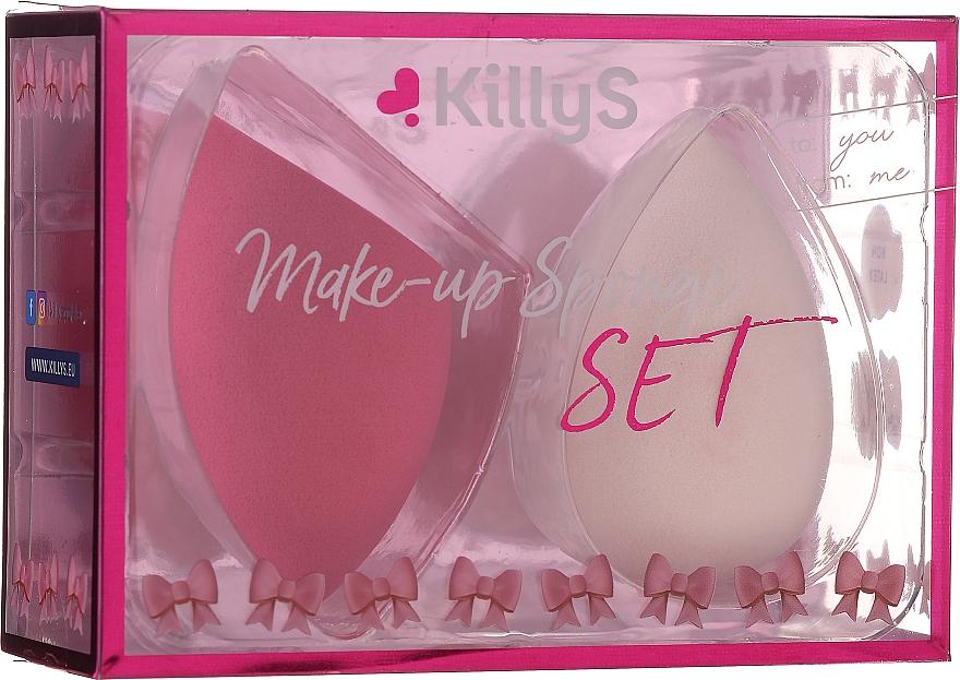 Éponges à maquillage, 2 pcs - KillyS