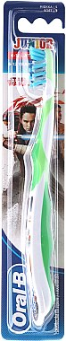 Brosse à dents, souple, blanc-vert - Oral-B Junior Star Wars R2D2 — Photo N1
