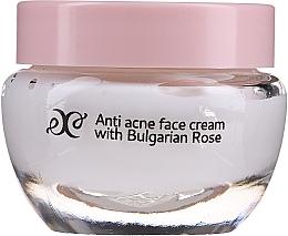 Parfums et Produits cosmétiques Crème à la rose bulgare pour visage - Hristina Cosmetics Rose Anti Acne Face Cream