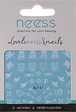 Parfums et Produits cosmétiques Autocollants pour ongles, 3683, MJ167 - Neess