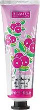 Parfums et Produits cosmétiques Crème à l'extrait de myrtille pour mains - Beauty Formulas Cranberry Moisturising Hand Cream