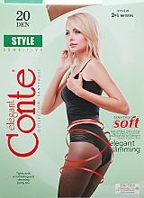 Parfums et Produits cosmétiques Collant pour femme, Style, 20 Den, natural - Conte
