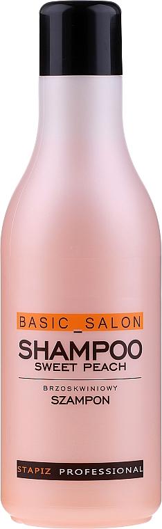 Shampooing à l'arôme de pêche - Stapiz Basic Salon Shampoo Sweet Peach