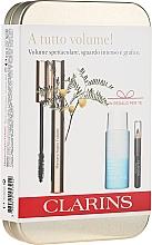 Parfums et Produits cosmétiques Coffret cadeau - Clarins (mascara/8ml + makeup/remover/30ml + eye/pencil/0.39g)