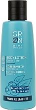 Parfums et Produits cosmétiques Lotion pour corps, Feuille de myrtille et Sel de mer - GRN Pure Elements Blueberry & Sea Salt Body Lotion