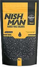 Parfums et Produits cosmétiques Perles de cire dépilatoire - Nishman Hard Wax Beans Black