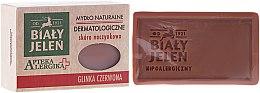 Parfums et Produits cosmétiques Savon dermatologique à l'argile rouge - Bialy Jelen Apteka Alergika Soap