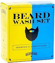 Parfums et Produits cosmétiques Golden Beards Beard Wash Set - Coffret (shampooing à barbe/100ml + après-shampooing à barbe/100ml)