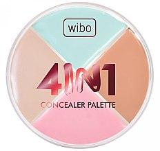 Parfums et Produits cosmétiques Palette de correcteurs pour visage - Wibo 4in1 Concealer Palette