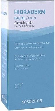 Lait démaquillant pour visage et yeux - SesDerma Laboratories Hidraderm Cleansing Milk — Photo N2