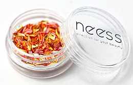 Parfums et Produits cosmétiques Paillettes à ongles, rhomboïdes - Neess Blink Effect Jet Decoration