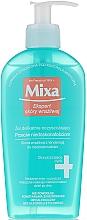 Parfums et Produits cosmétiques Gel nettoyant sans savon pour visage - Mixa Sensitive Skin Expert Cleansing Gel