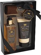 Parfums et Produits cosmétiques Beeing True - Set (gel douche/250ml + lotion corporelle/180ml + serviette de visage)
