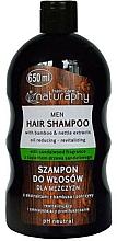 Parfums et Produits cosmétiques Shampooing à l'extrait de bambou et d'ortie - Bluxcosmetics Naturaphy Bamboo & Nettle Extracts Man Shampoo