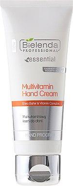 Crème au beurre de karité et vitamines pour mains - Bielenda Professional Multivitamin Hand Cream