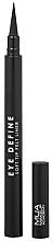 Parfums et Produits cosmétiques Eyeliner feutre - MUA Eye Define Soft Tip Felt Liner
