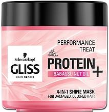 Parfums et Produits cosmétiques Masque à l'huile de noix de babassu pour cheveux - Schwarzkopf Gliss Kur Performance Treat