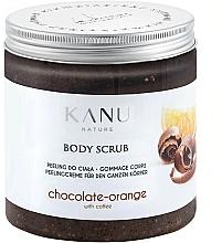 Parfums et Produits cosmétiques Gommage pour corps Chocolat et Orange - Kanu NatureBody Scrub