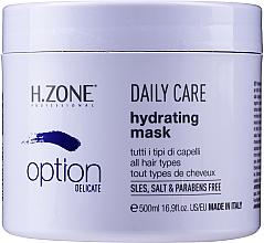 Parfums et Produits cosmétiques Masque sans parabènes pour cheveux - H.Zone Option Daily Care Hydrating Mask