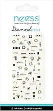 Parfums et Produits cosmétiques Autocollants pour ongles, 3709 - Neess Diamondneess