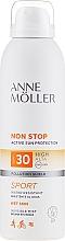 Parfums et Produits cosmétiques Spray solaire pour corps - Anne Moller Non Stop Active Sun Invisible Mist SPF30
