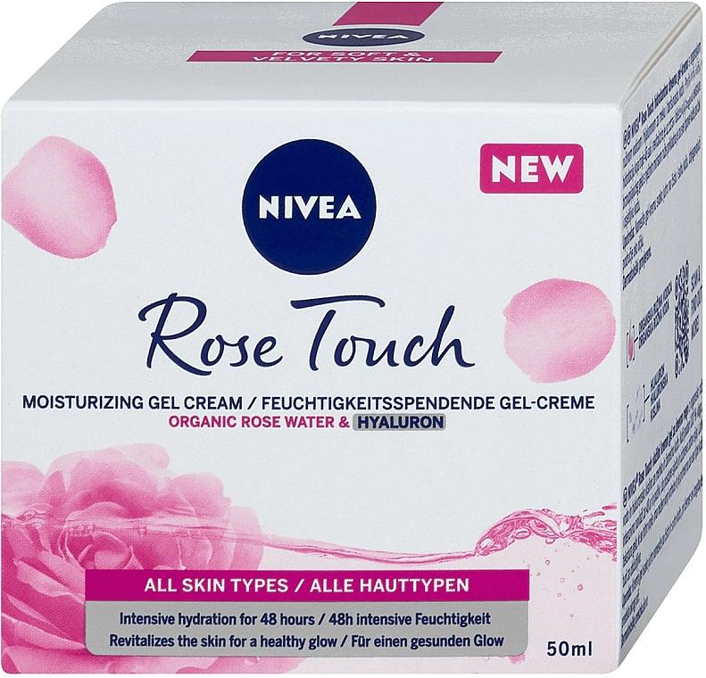 Gel-crème hydratant pour visage - Nivea Rose Touch