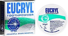 Parfums et Produits cosmétiques Poudre dentaire - Eucryl Toothpowder Freshmint