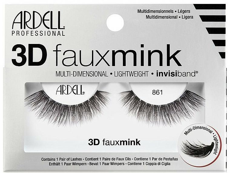 Faux cils - Ardell 3D Faux Mink 861 — Photo N1