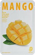 Parfums et Produits cosmétiques Masque tissu à l'extrait de mangue pour visage - The Iceland Mango Mask