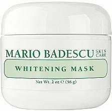 Parfums et Produits cosmétiques Masque éclaircissant à la vitamine E pour visage - Mario Badescu Whitening Face Mask