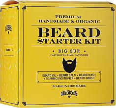 Parfums et Produits cosmétiques Golden Beards Starter Beard Kit Big Sur - Coffret