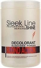 Parfums et Produits cosmétiques Poudre à l'oxygène actif pour cheveux - Stapiz Sleek Line Repair & Shine Blond Action