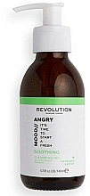 Parfums et Produits cosmétiques Gel nettoyant pour visage - Revolution Skincare Angry Mood Soothing Cleansing Gel