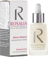 Parfums et Produits cosmétiques Sérum à l'huile de rose musquée contour des yeux et des lèvres - Naturado Rosalia Serum Eye And Lip Contours