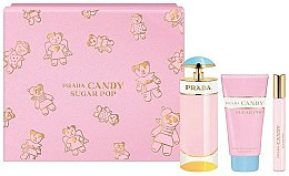 Parfums et Produits cosmétiques Prada Candy Sugar Pop - Coffret cadeau (eau de parfum/80ml + eau de parfum/10ml + lotion corporelle/75ml)