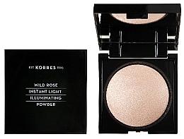 Parfums et Produits cosmétiques Poudre pour visage - Korres Wild Rose Instant Light Illuminaring Power