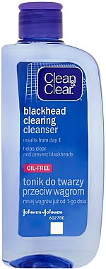 Tonique anti-points noirs - Clean & Clear Blackhead Clearing Daily Lotion