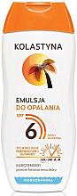 Parfums et Produits cosmétiques Emulsion solaire woterproof - Kolastyna Suncare Emulsion SPF6
