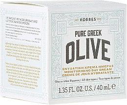 Parfums et Produits cosmétiques Crème de jour à l'extrait d'huile d'olive et vitamine C - Korres Pure Greek Olive Day Cream